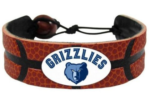 Memphis Grizzlies Leather Basketball Bracelet