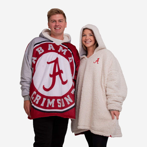 Alabama Crimson Tide Hoodie - Reversible