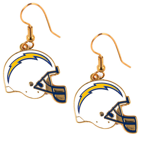 Los Angeles Chargers Helmet Dangle Earrings