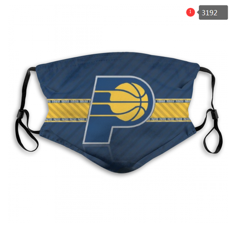 Indiana Pacers Face Mask - Reuseable, Fashionable, Washable