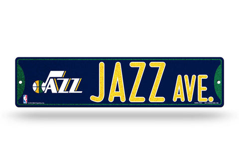 Utah Jazz Bling Street Sign