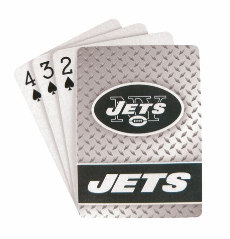 New York Jets Diamond Plate Playing Cards