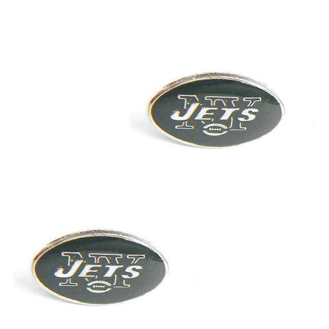 New York Jets Logo Stud Earrings