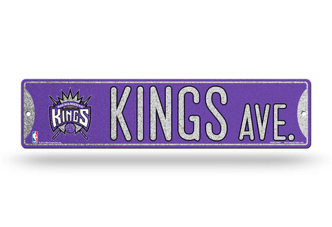 Sacramento Kings Bling Street Sign