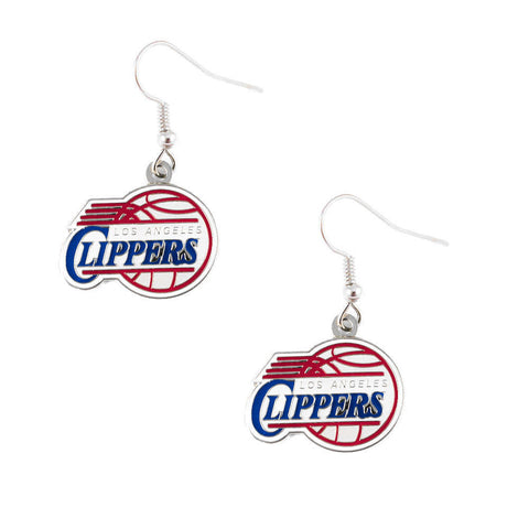 Los Angeles Clippers Logo Dangle Earrings