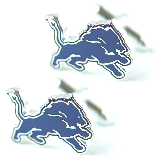 Detroit Lions Cuff Links -   Logo
