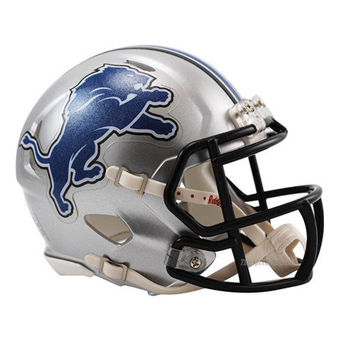 Detroit Lions Helmet - Riddell Speed Mini Helmet