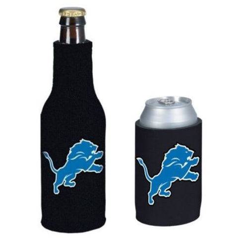 Detroit Lions Koozie - Can & Bottle Koozie Combo