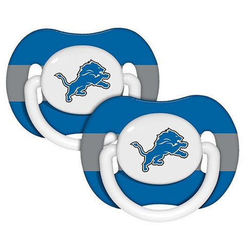 Detroit Lions Baby Pacifiers - Pack Of 2