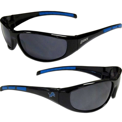 Detroit Lions Sunglasses - 3 Dot Team Logo Series Sport Sunglasses