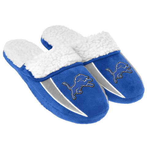 Detroit Lions Slippers - Sherpa Slide Slippers