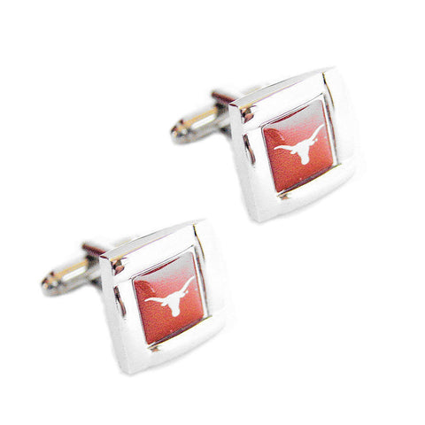 Texas Longhorns Square Cuff Links