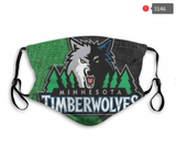 Minnesota Timberwolves Face Mask - Reuseable, Fashionable, Washable