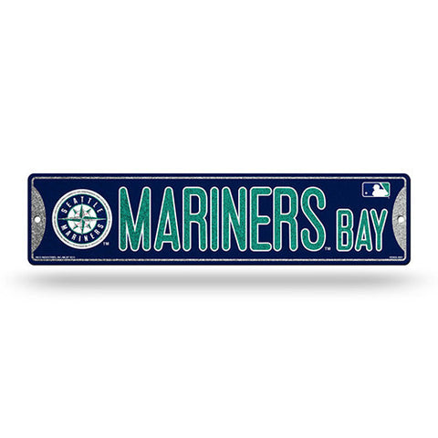 Seattle Mariners Bling Street Sign