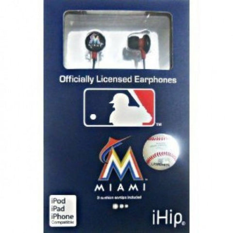 Miami Marlins iHip Ear Buds