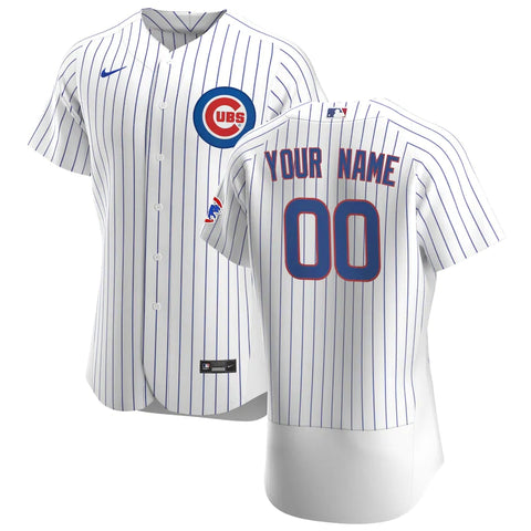 Chicago Cubs Jersey - Custom Name and Number - White