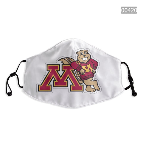 Minnesota Golden Gophers Face Mask - Reuseable, Fashionable, Washable