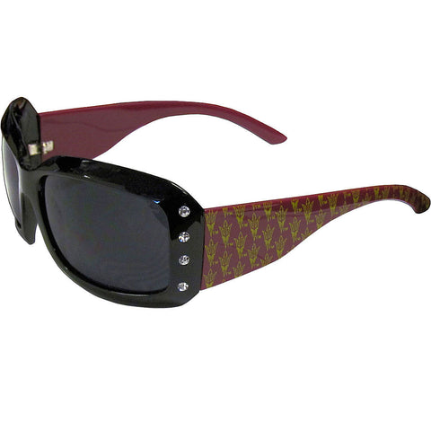 Arizona State Sun Devils Sunglasses - Ladies Rhinestone Sunglasses