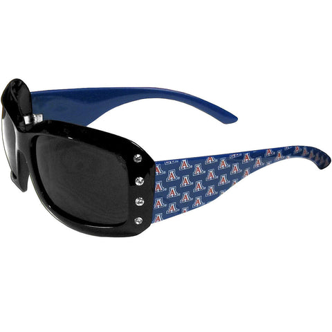 Arizona Wildcats Sunglasses - Ladies Rhinestone Sunglasses