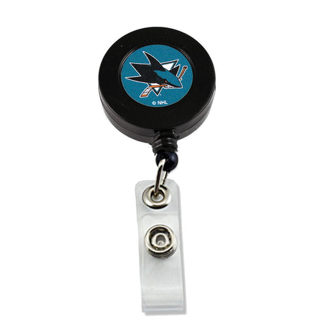 San Jose Sharks Retractable Badge Reel