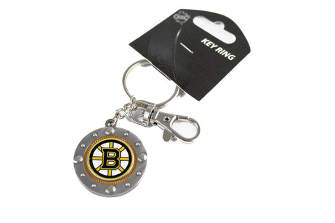 Boston Bruins Keychain