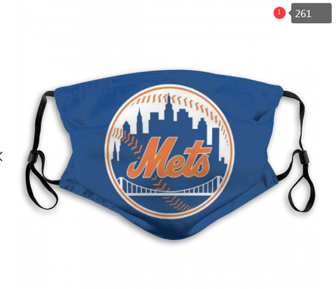 New York Mets Face Mask - Reuseable, Fashionable, Several Styles