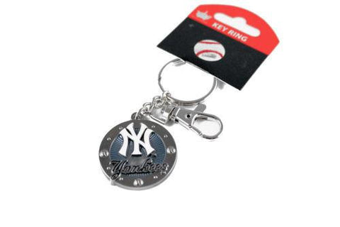 New York Yankees keychain - impact keychain with key ring clip