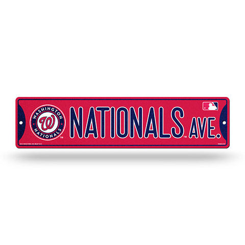 Washington Nationals Bling Street Sign