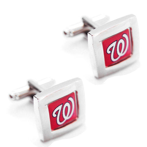 Washington Nationals Square Cuff Links