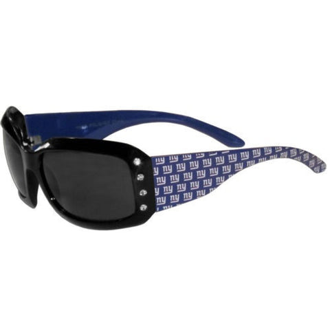 New York Giants Sunglasses - Ladies Rhinestone Sunglasses