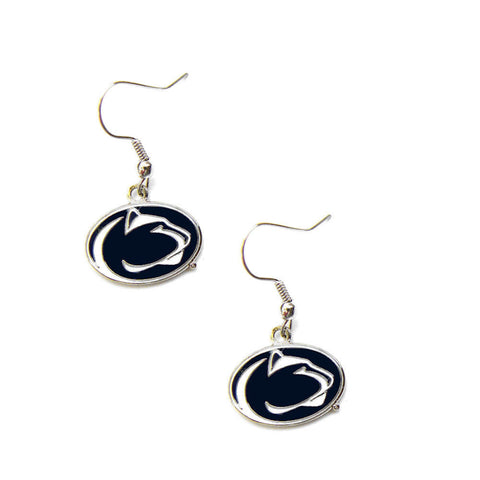 Penn State Nittany Lions Logo Dangle Earrings