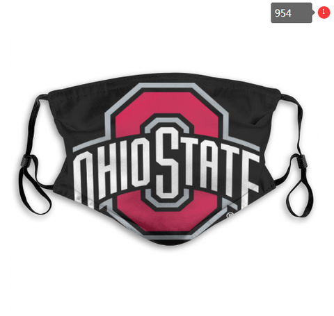 Ohio State Buckeyes Face Mask - Reuseable, Fashionable, Several Styles