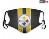 Pittsburgh Steelers Face Mask - Reuseable, Fashionable, Several Styles