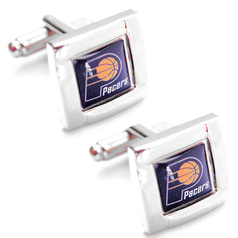 Indiana Pacers Square Cuff Links