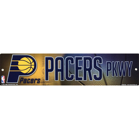 Indiana Pacers Bling Street Sign