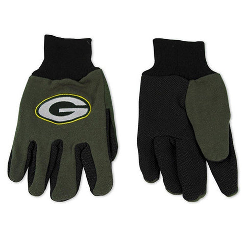 Green Bay Packers Gloves - Utility Work Gloves