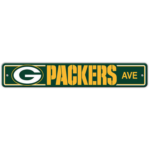 "Green Bay Packers Street Sign - 4""x24"""