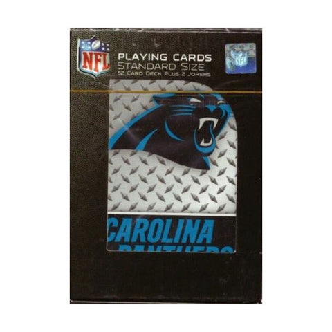 Carolina Panthers Playing Cards - Diamond Plate