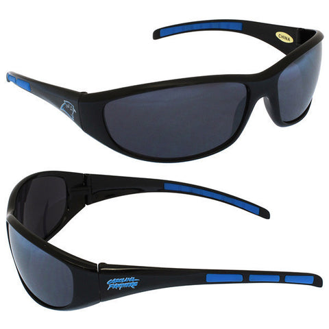 Carolina Panthers Sunglasses - 3 Dot Team Logo Series Sport Sunglasses