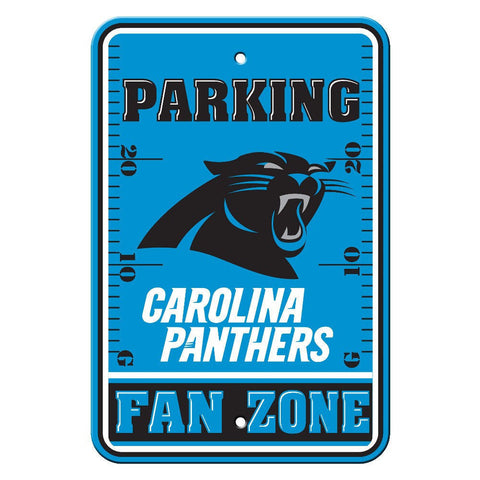 "Carolina Panthers Sign - Parking Sign - 12"" x 18"""