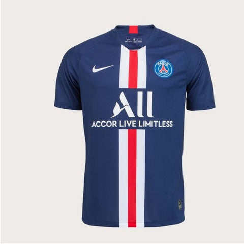 Paris Saint-Germain Home 19/20 Jersey - Custom Any Name or Number