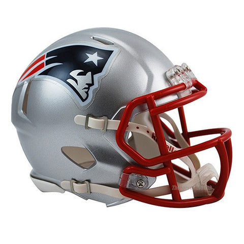 New England Patriots Helmet - Riddell Speed Mini Helmet