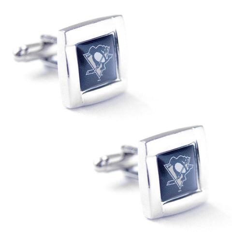 Pittsburgh Penguins Square Cuff Links