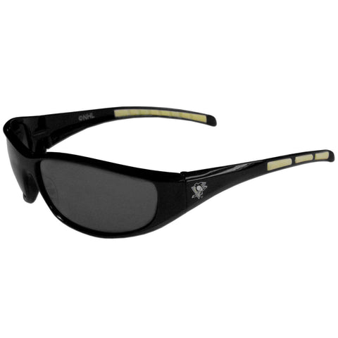 Pittsburgh Penguins 3 Dot Team Logo Series Sport Sunglasses