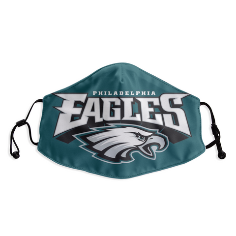 Philadelphia Eagles Face Mask - Reuseable, Fashionable, Several Styles
