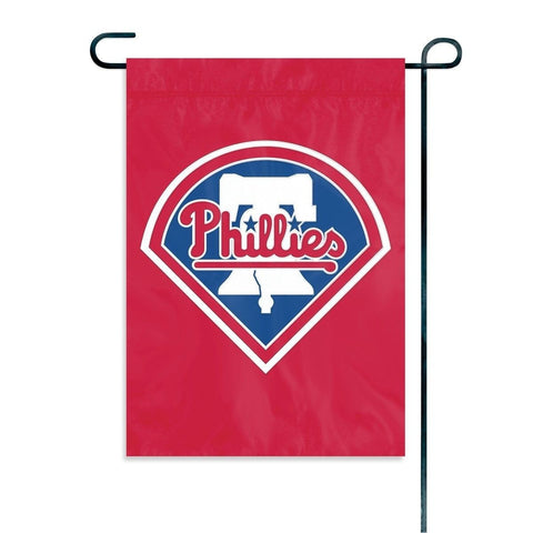 "Philadelphia Phillies Indoor/Outdoor 15""x10"" Garden Flag"