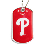 Philadelphia Phillies Dog Tag Necklace