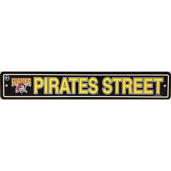 "Pittsburgh Pirates Street Sign - 4""x24"""