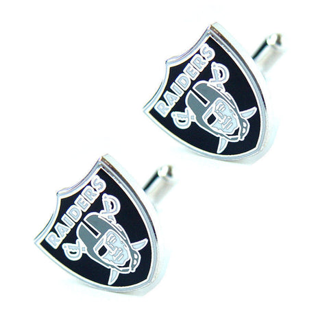 Oakland Raiders Cuff Links -Logo