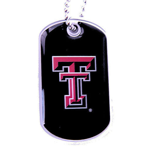 Texas Tech Raiders Dog Tag Necklace
